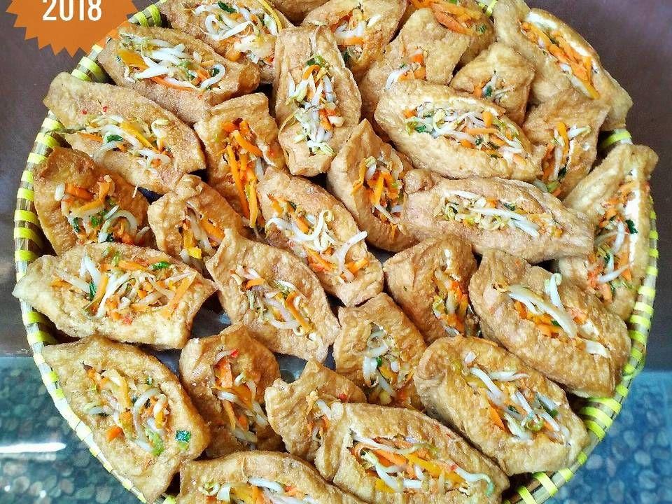 Resep Tahu Isi Pedas Oleh Susan Mellyani Resep Resep Tahu Resep Masakan Masakan