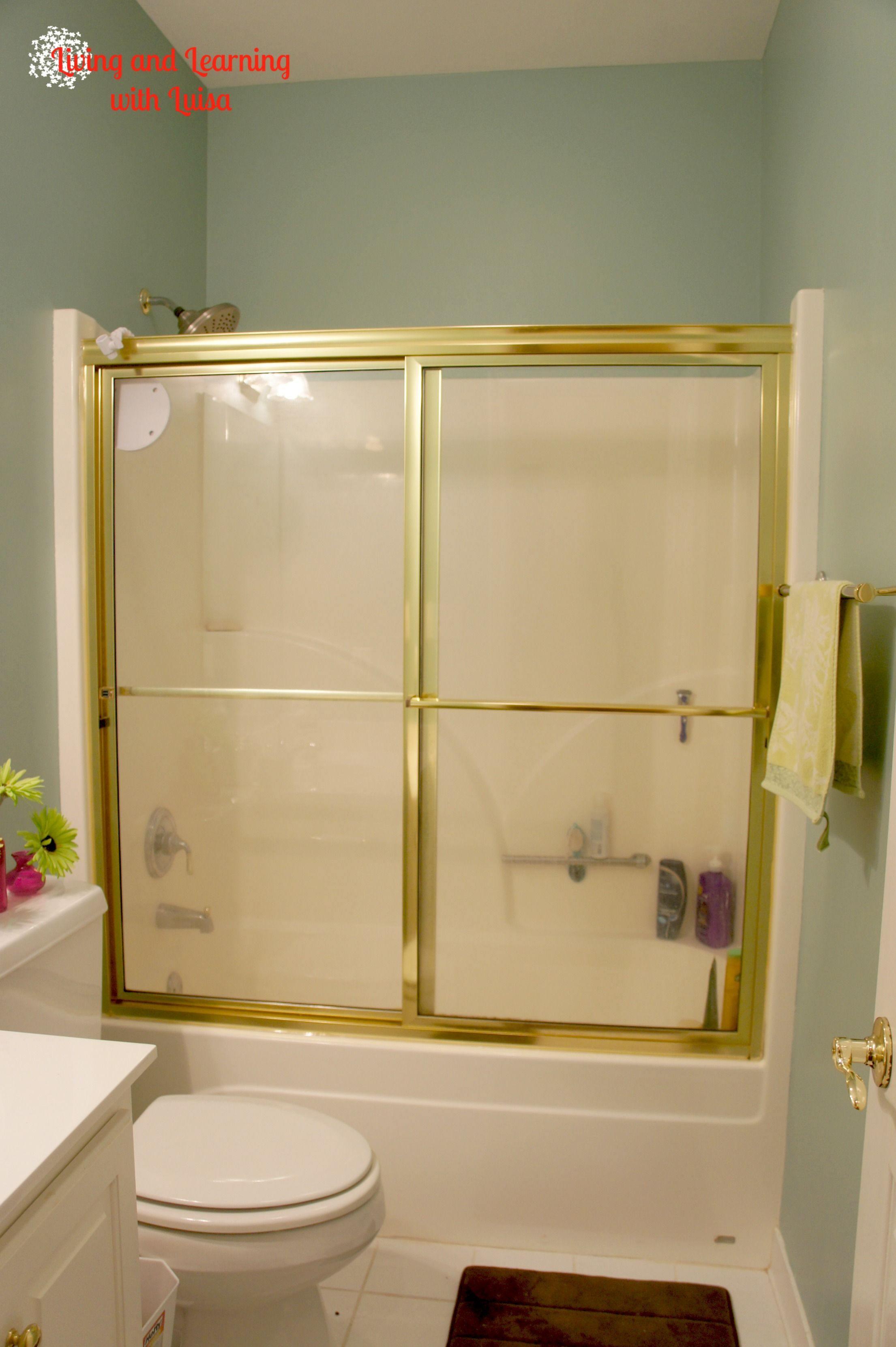 Shower doors be gone step by step guide to removing for Showers without glass