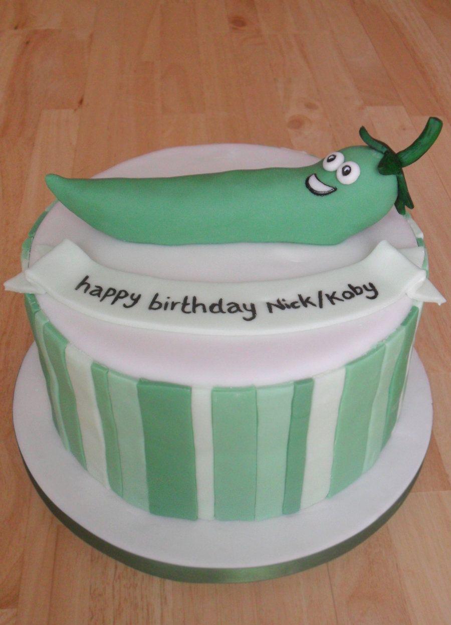 Green Chili Pepper Cake by RebeccaRoseBrinedeviantartcom on