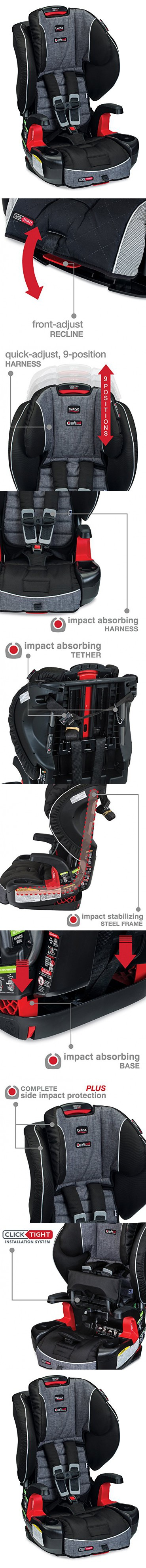 Britax G1.1 Frontier Clicktight Combination Harness2