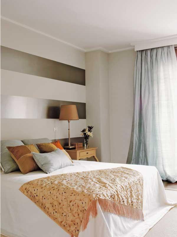10 ideas para sacar partido al dormitorio habita - Paredes pintadas originales ...