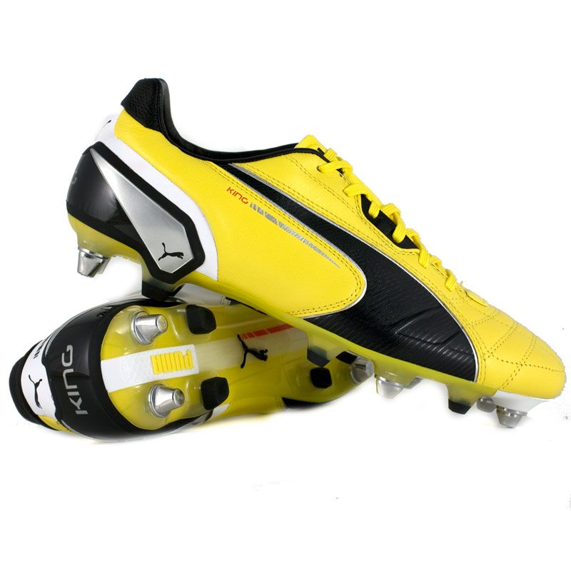 Puma King Mixed SG Gialla Nera (มีรูปภาพ)