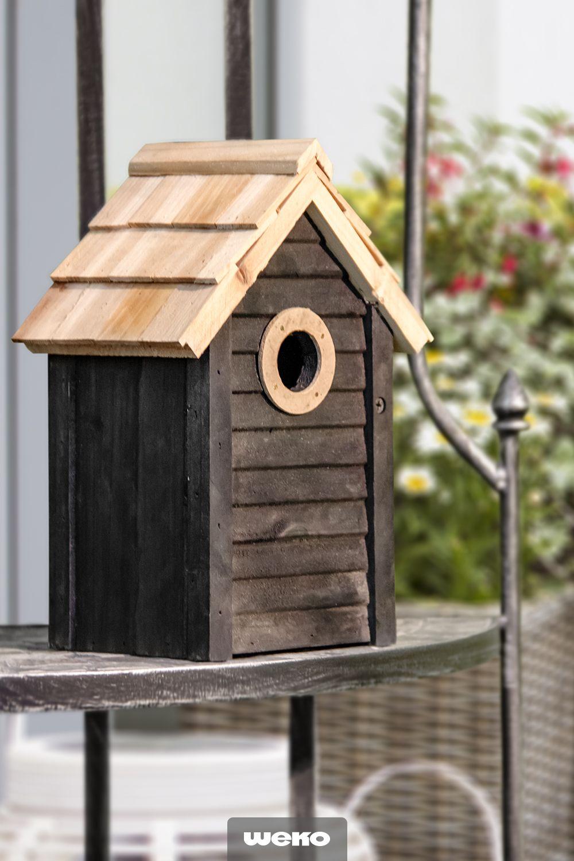 Das Vogelhaus Die Perfekte Deko Fur Den Garten Vogelhaus Deko Haus