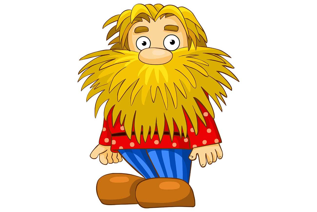 The Dwarf With The Golden Beard | Free Kids Stories Online