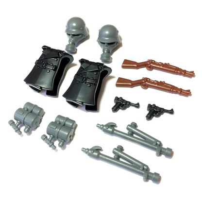 Lego Custom German Infantry Trooper Minifigure Accessory Pack