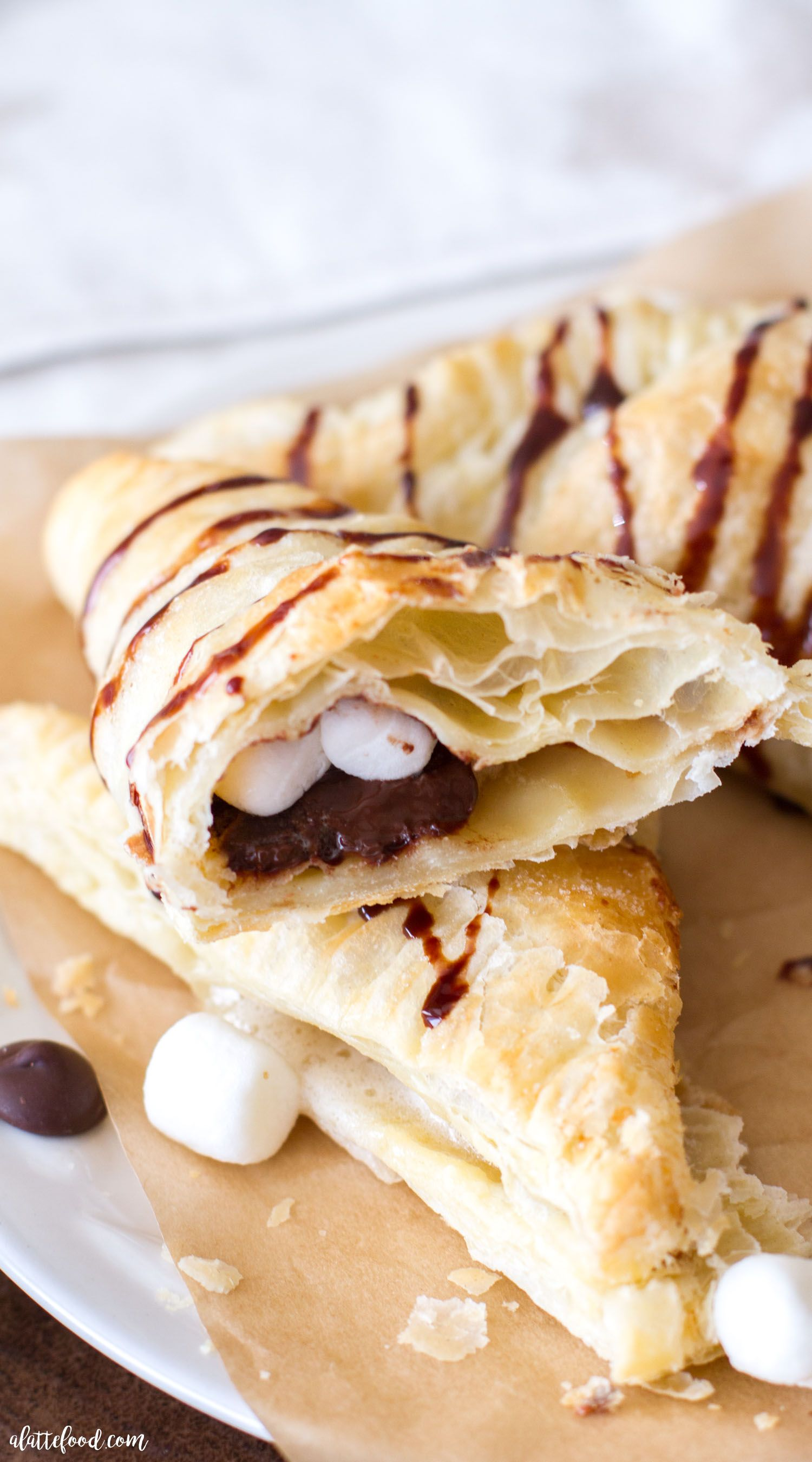 {3-ingredient} S'mores Turnovers