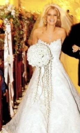 Vera wang jessica simpson dress 3400 size 2 sample wedding dresses junglespirit Images