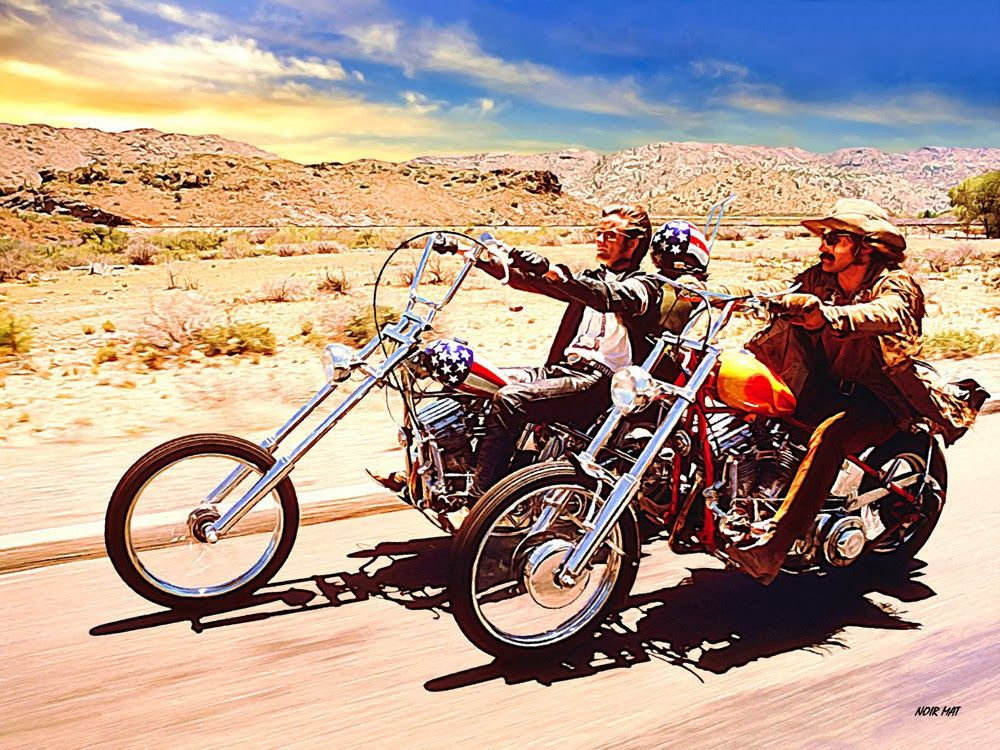 Easy Rider .. a true American Classic .. Motorcycles and culture .. CarProperty.com