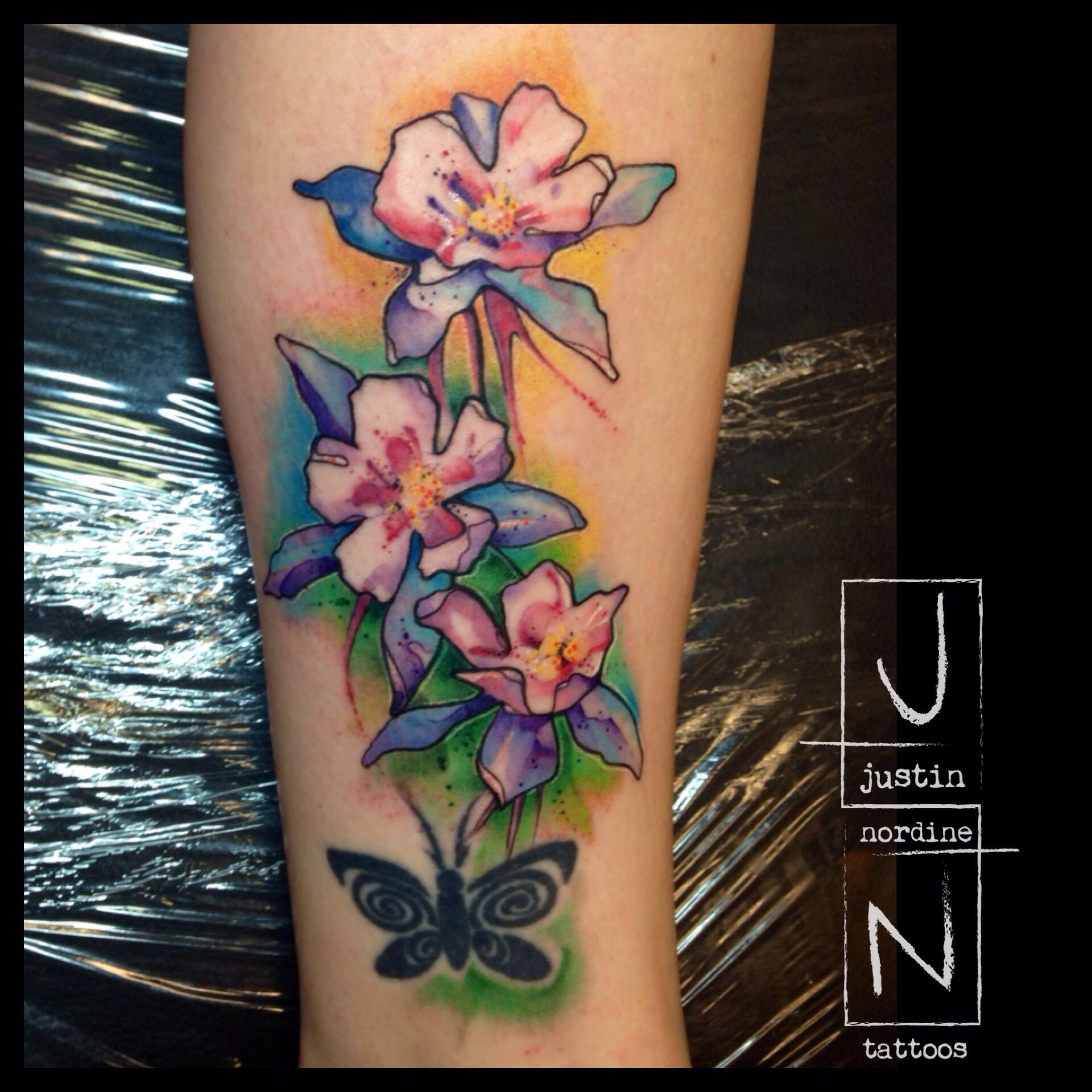 Pin On Watercolor Tattoos