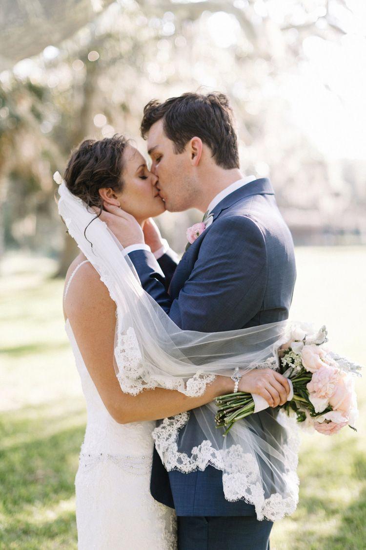 Lowcountry Love Matt Alana Wedding Bride And Groom Romantic