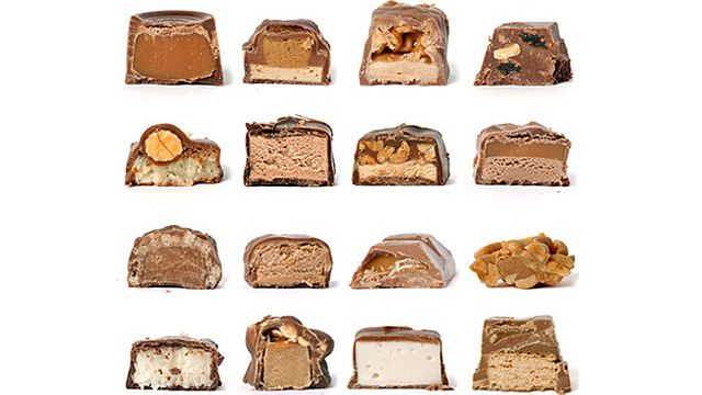 candy bar identification quiz. how many can you get? #jezebel