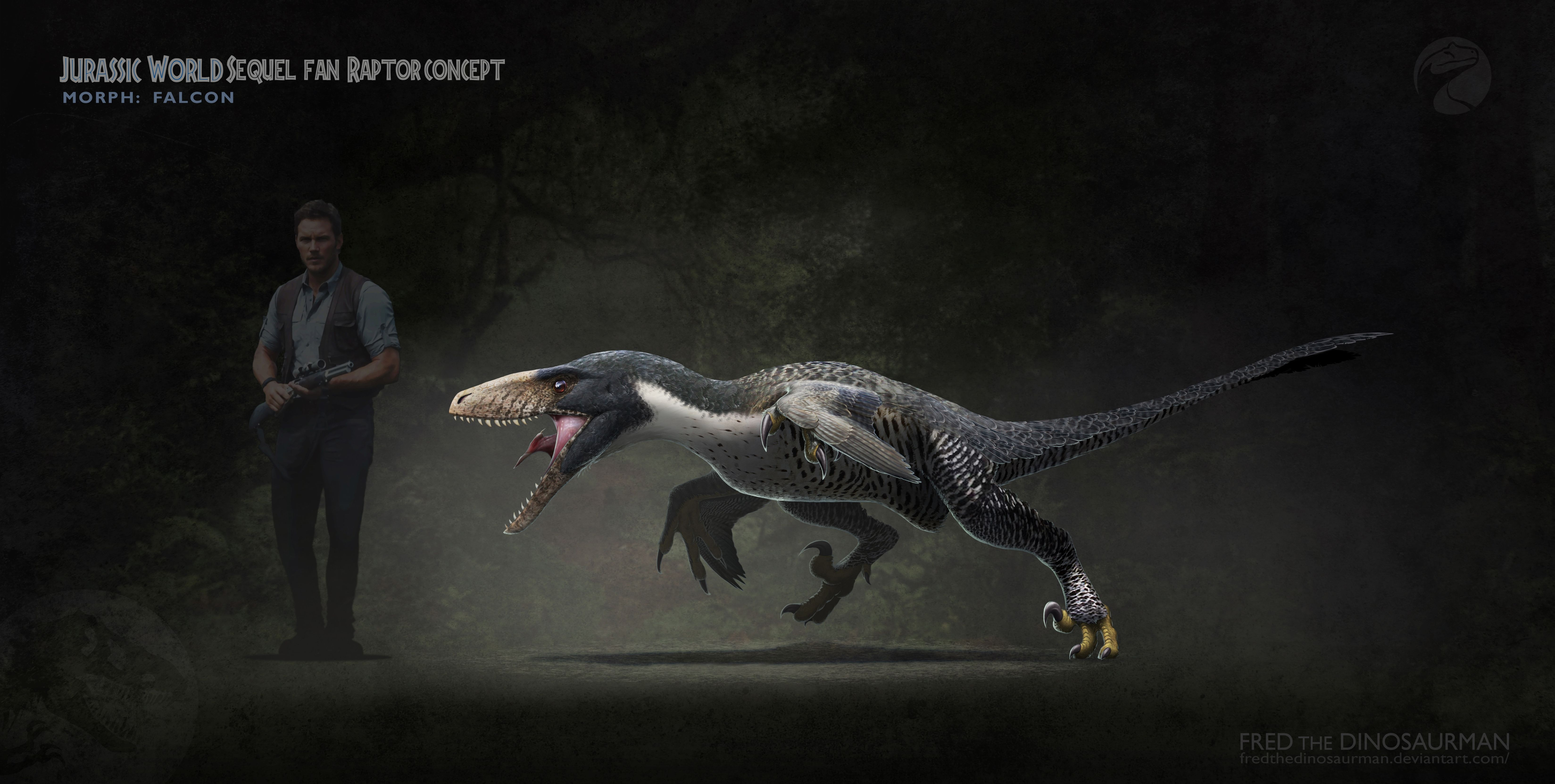 professional concept artist reimagines jurassic world with scientific accuracy oc prehistoric animals prehistoric creatures jurassic world pinterest