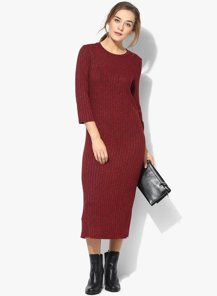 88f1cc8bfd33 Buy Mango Red Coloured Striped Shift Dress for Women Online India, Best  Prices, Reviews | MA092WA06CQVINDFAS