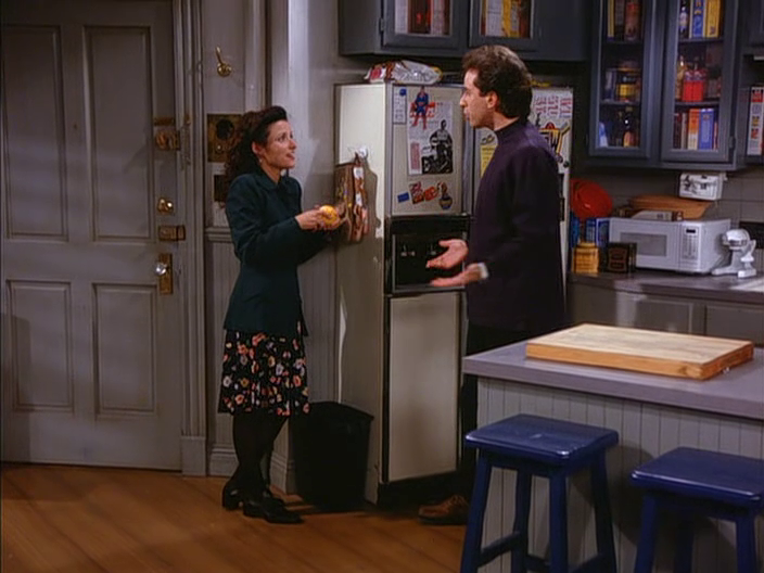 Elaine Benes Tights Chunky Shoes Odd Proportions