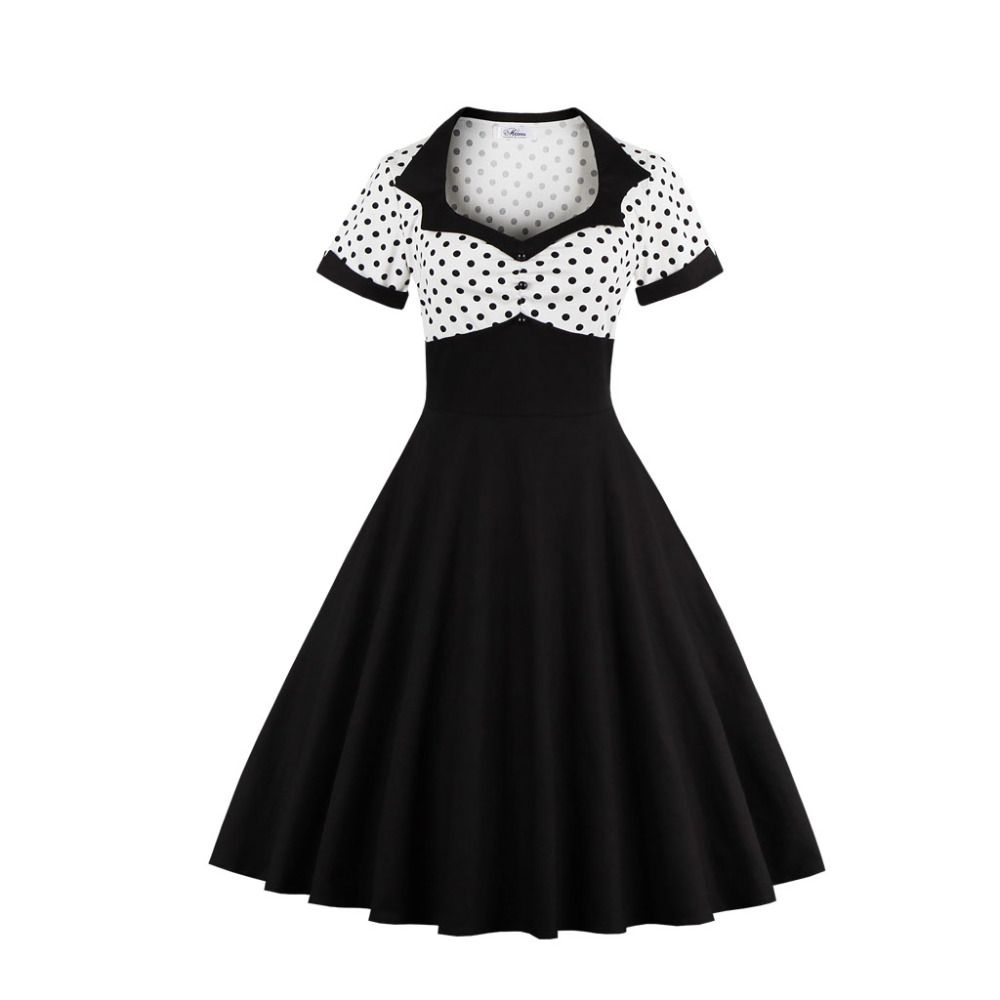 Plus size s xl women dress retro vintage s s rockabilly