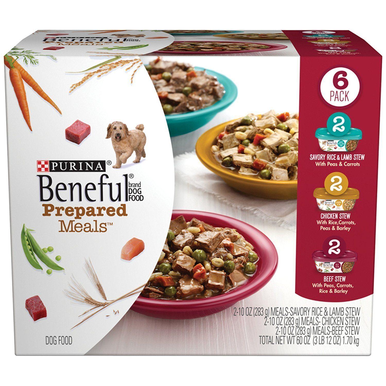 Beneful prepared meals stew variety pack wet dog food 6