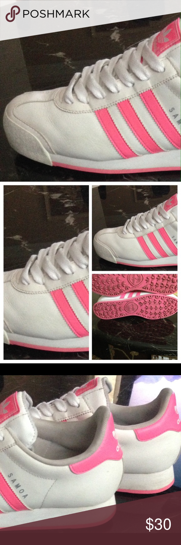 1fa938cd0b6765 Adidas originals Pre loved still in good condition! No rips! No stains or  tears! Very comfortable! Women s Adidas Samoa US size 11 and Men s size 9  Adidas ...