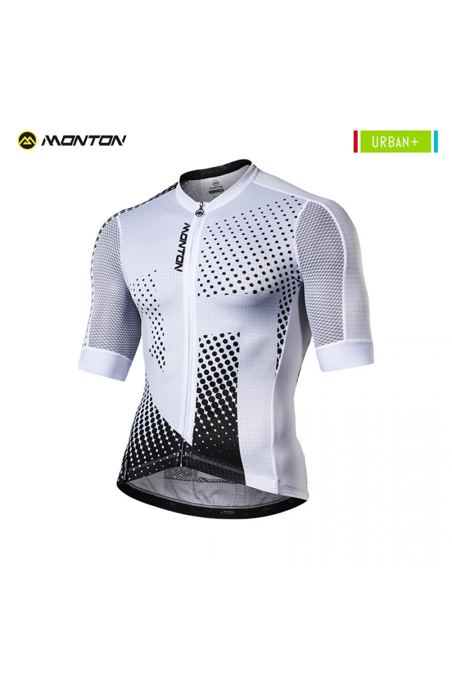 Black And White Cycling Jersey Ropa De Ciclismo Jersey De