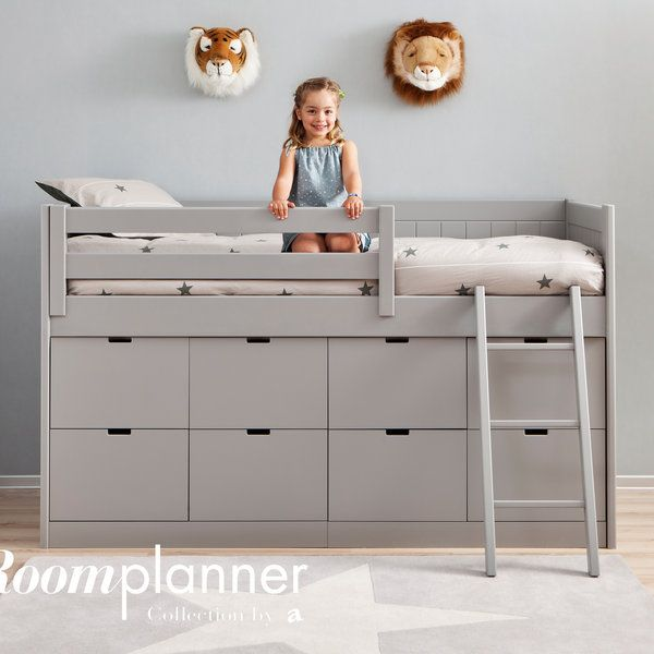 Childrenu0027s Furniture  sc 1 st  Pinterest & Fabulous childrenu0027s Storage Bed by Roomplanner of Spain | Bub ...