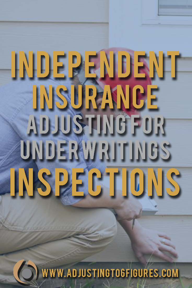 Independent Insurance Adjuster Sample Resume This Post Gives An Overview Of Underwriting Inspections Especially .