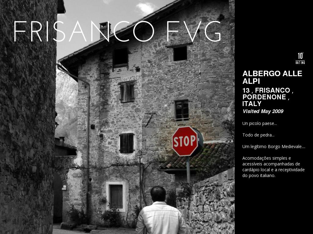 Albergo Alle Alpi   Frisanco FVG by Ricardo Filippon