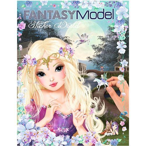 TOPModel Create Your Fantasy World Sticker Book