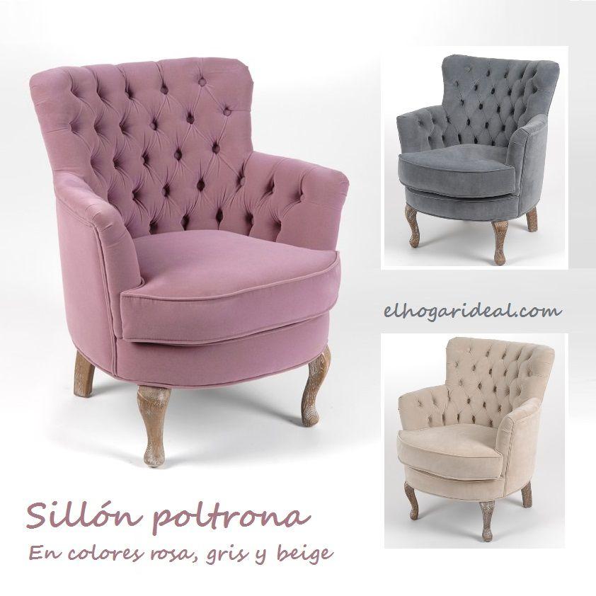 Sillones poltrona fabricados en madera de hevea y for Sillones individuales modernos