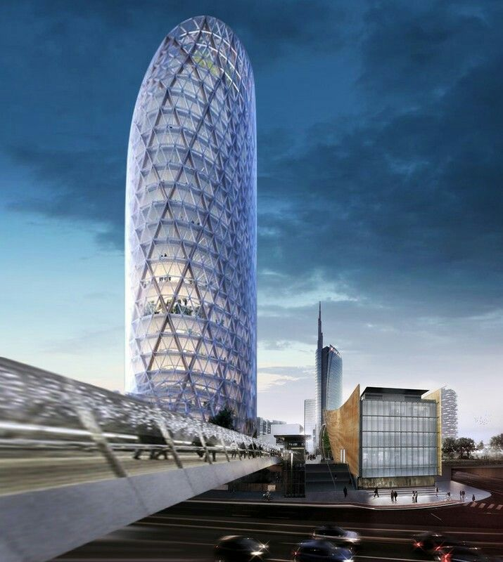 Torre Unipol Milano Architecture Pinterest Architecture And