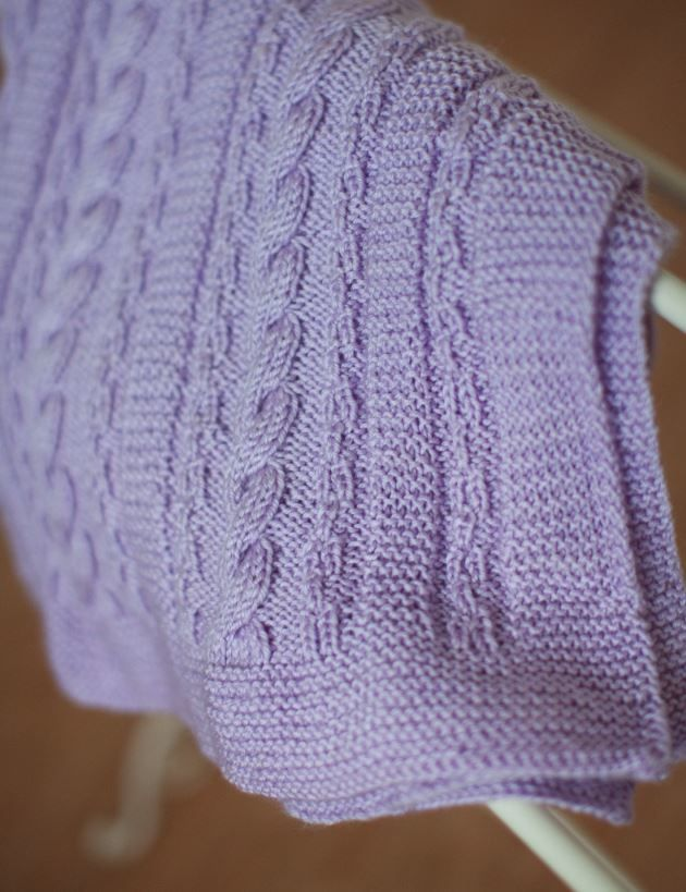Dusty Lavender Cable Blanket | Pinterest | Lavender, Cable and Blanket