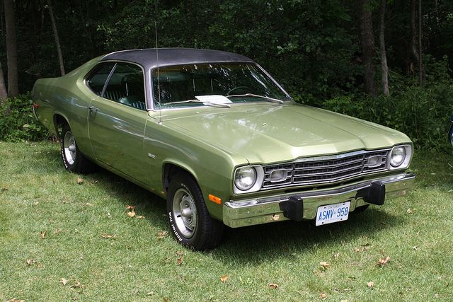 1973 Plymouth Duster Coupe Plymouth Duster Vintage Muscle Cars Classic Cars Trucks