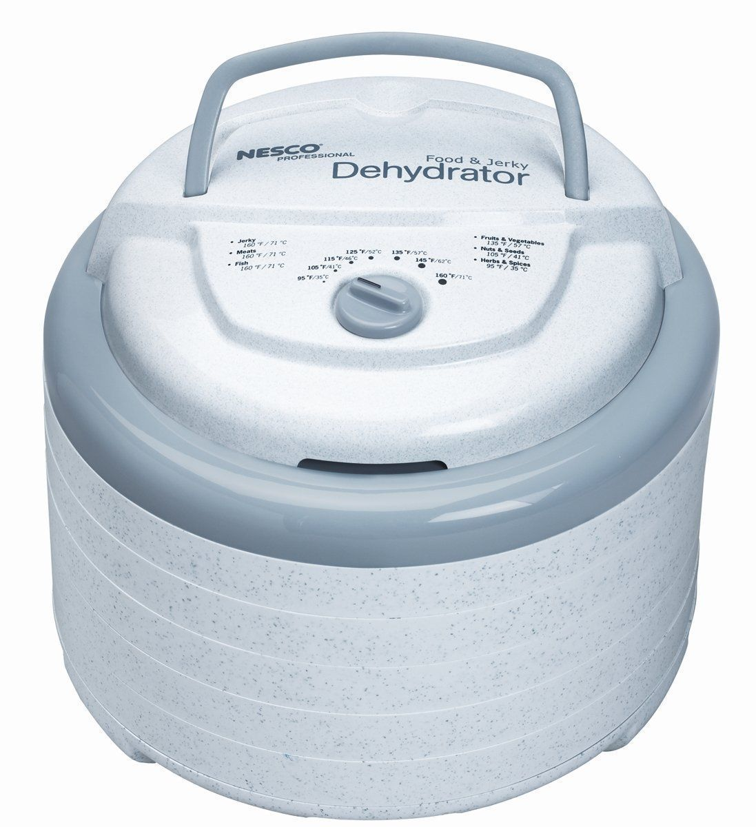 Nesco Fd-75A Snack Master Pro Food Dehydrator With 2 Solid Sheets