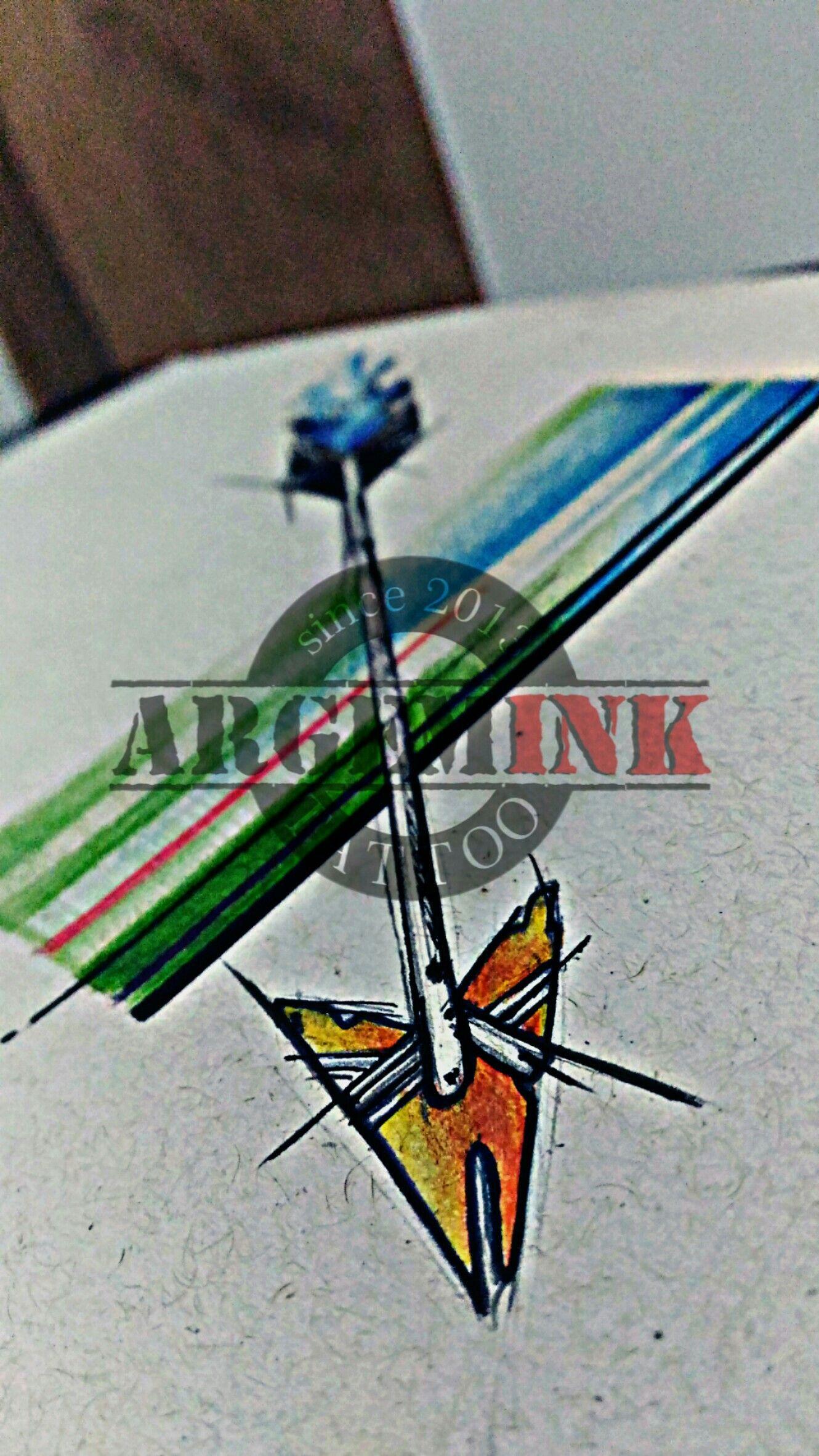 #flecha #flechatattoo #colortattoo #rj