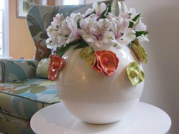 Round Sicillian Vase by ZooZoosWhimsy on Etsy, $125.00