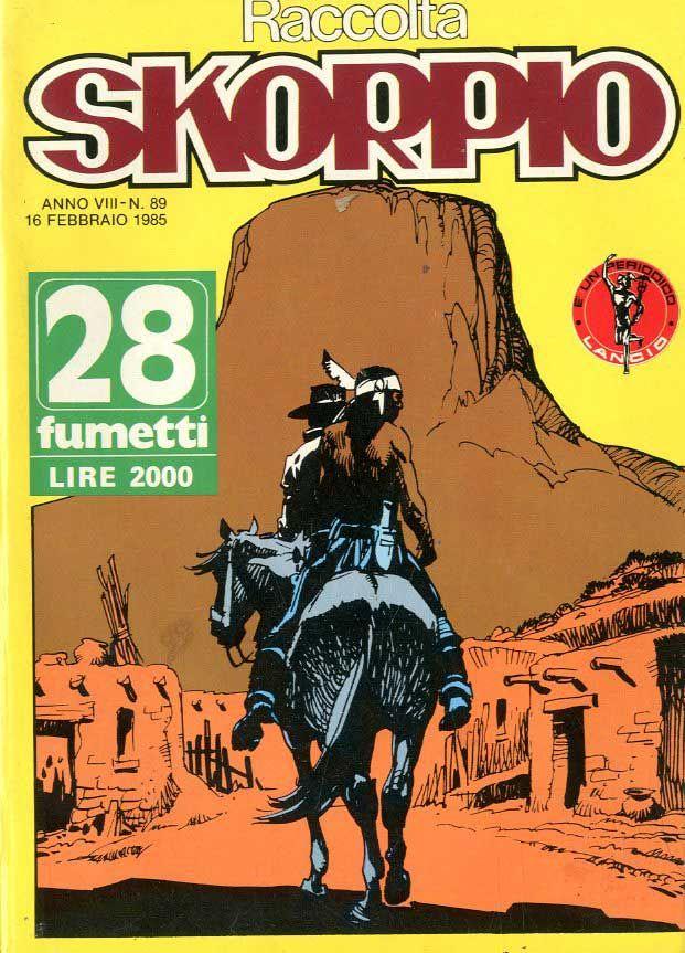 Fumetti EDITORIALE AUREA, Collana SKORPIO RACCOLTA n°89