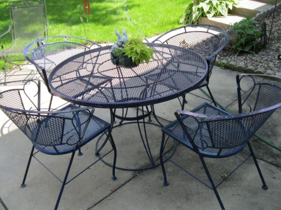 Furniture Arlington House Wrought Iron Chair Patio Chairs That Rock