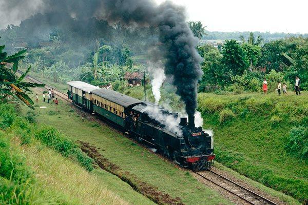 Indonesian Railways Pnka Cc10 2 6 6 0t Cc50 2 6 6 0 Mallet Cibatu Garut Cikajang Passenger Train Railway Train Photo Photo
