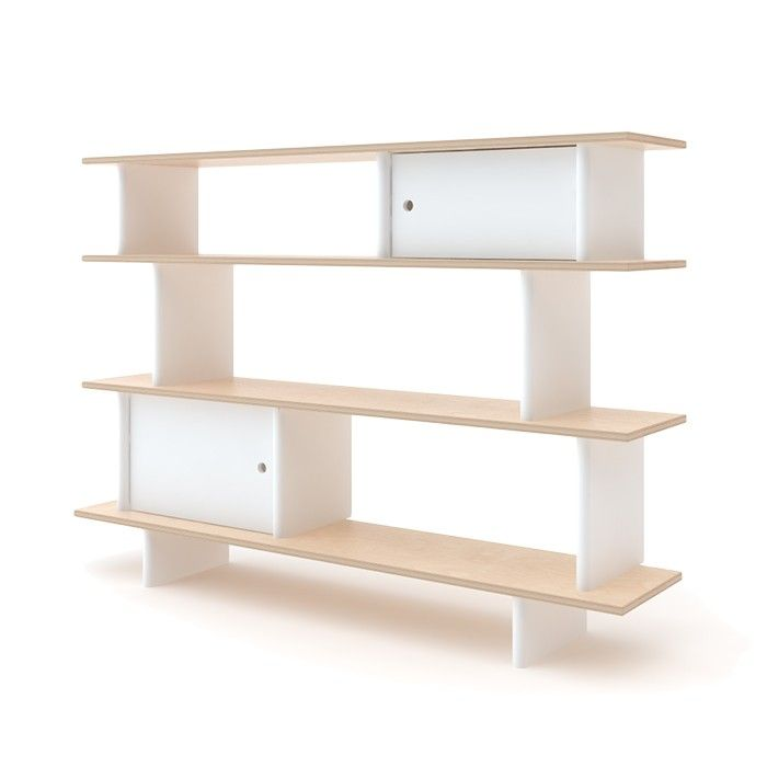The Oeuf mini library offers stylish and practical storage for any room. Children will love its fun design and easy-to-reach height. Parents will love its sleek contemporary looks and sturdy construction.    This item is GREENGUARD Gold certified.   WARNING - Serious or fatal injuries can occur from furniture tipping over. Learn how to prevent furniture tip-over accidents.