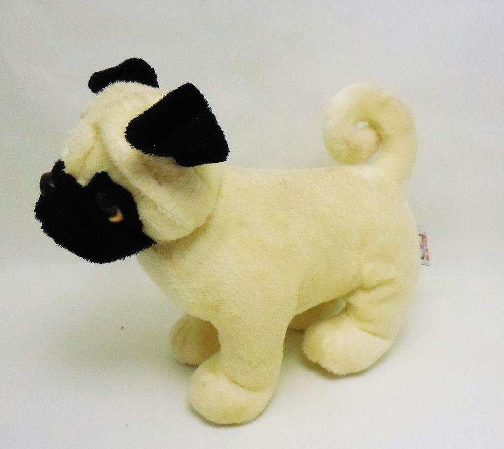 Hip Hibiscus Pug Dog From Ganz Well Heeled Pets Webkinz Plush Toy