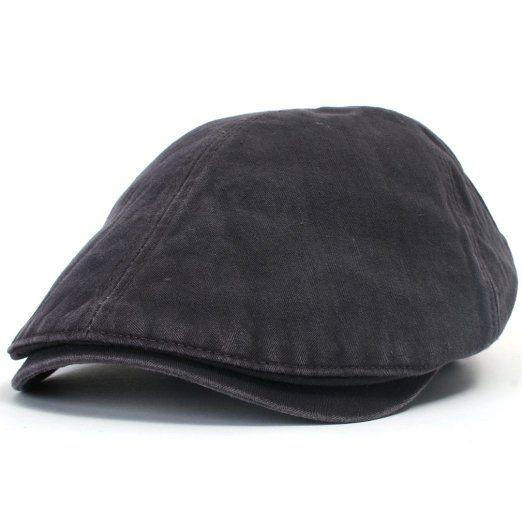 08a577ee Amazon.com: ililily New Men¡¯s Cotton washing Flat Cap Cabbie Hat Gatsby  Ivy Caps Irish Hunting Hats Newsboy with Stretch fit - 003-4: Clothing