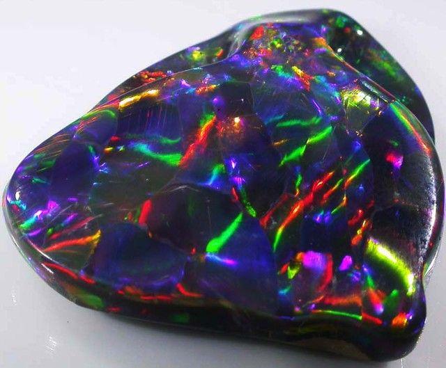 61 10 carat quot harlequin quot black opal origin quot wyoming quot opal