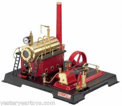 Working D21 Wilesco Toy Steam Engine on eBay!