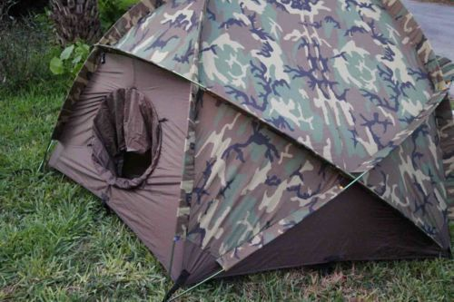 Eureka US Military 4 Man Extreme Cold Weather Tent (ECWT) With Poles u0026 Rainfly & Eureka US Military 4 Man Extreme Cold Weather Tent (ECWT) With ...