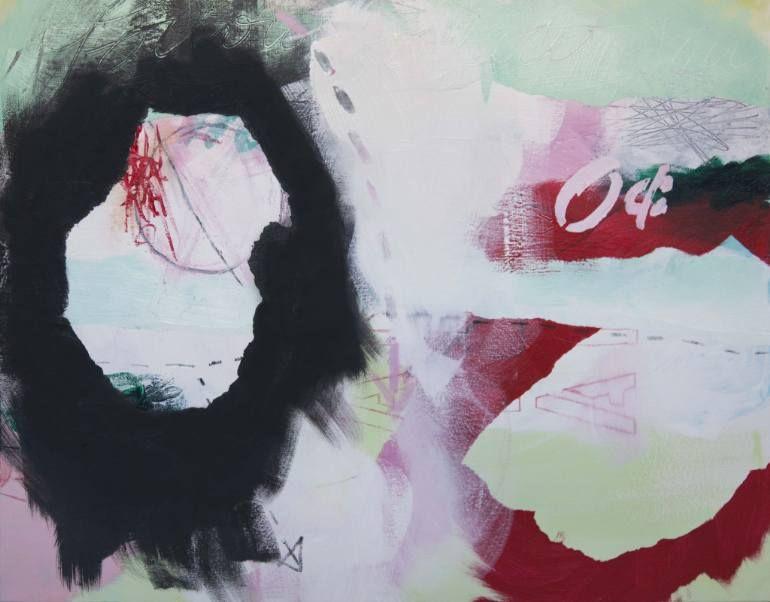 "Saatchi Art Artist Ashley Cunningham; Painting, ""This Makes No Sense #2"" #art"