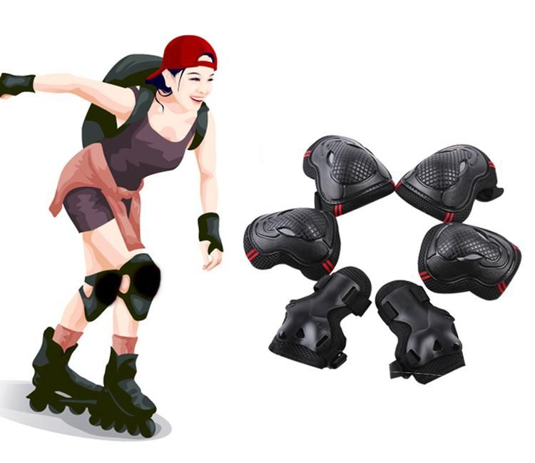 Adultkid skating skateboard roller blading elbow knee