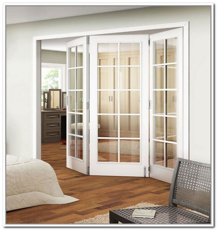 Concertina Doors Opening Round A Corner On A Wardrobe Google Search Frenchdoorideas Frenchd Bifold French Doors French Doors Interior Sliding French Doors