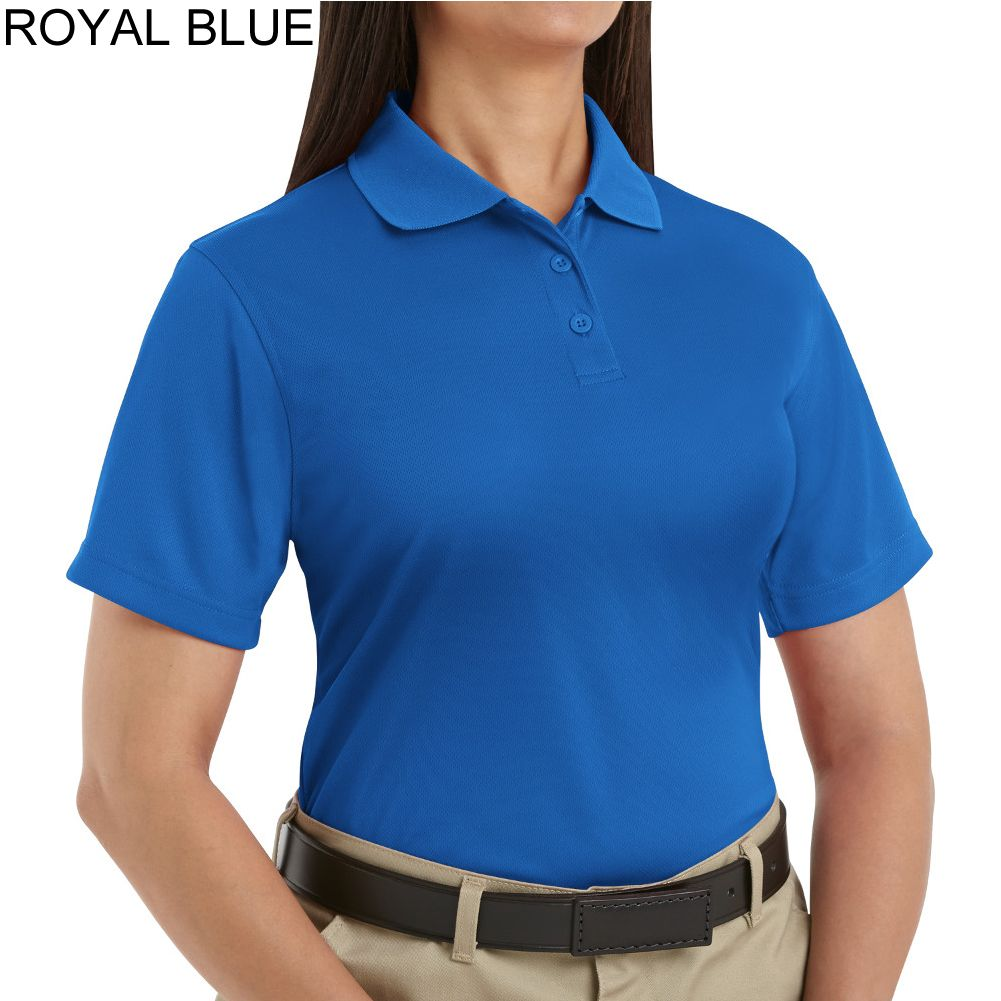 uniform polo shirts for women   ... Red Kap Women's 100% Polyester ...