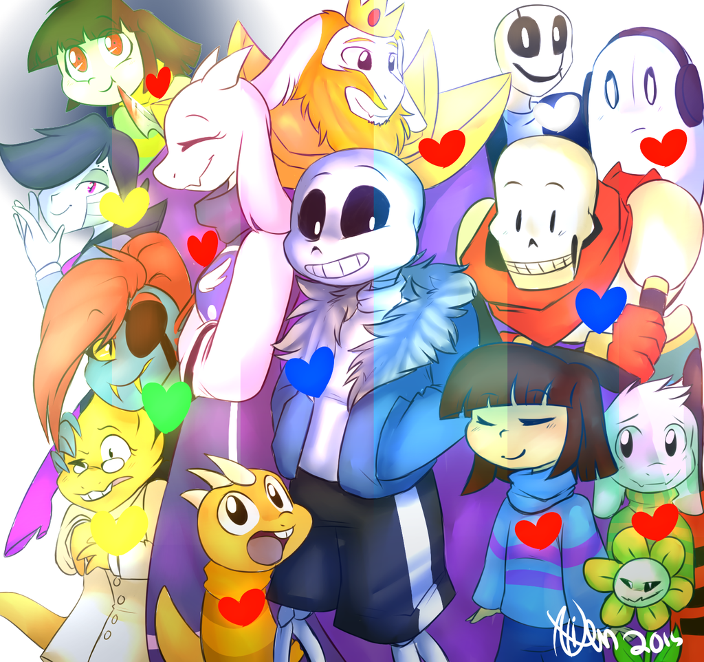 Image Result For Undertale Pics All Characters With Images