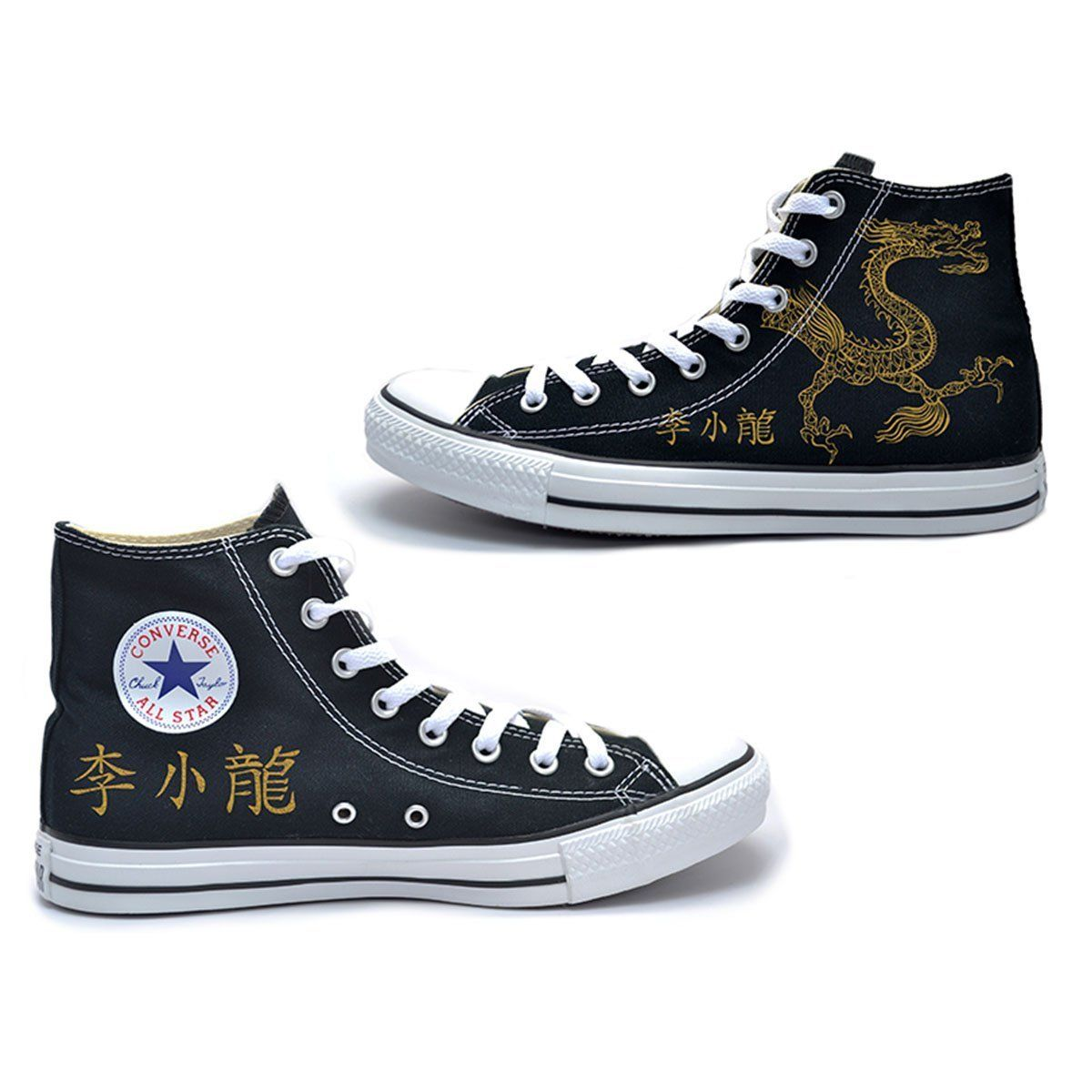 548022d9ebccc7 Lee Little Dragon Converse Chuck Taylor All Star High Top Sneakers - Bruce  Lee Official Store