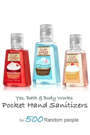 Free Bath Body Works Pocket Hand Sanitizer Giveaway Bath And