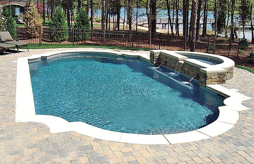Grecian Style For Your Own Roman Themed Swimming Pool Swimming Pool Pictures Backyard Pool Backyard Pool Designs